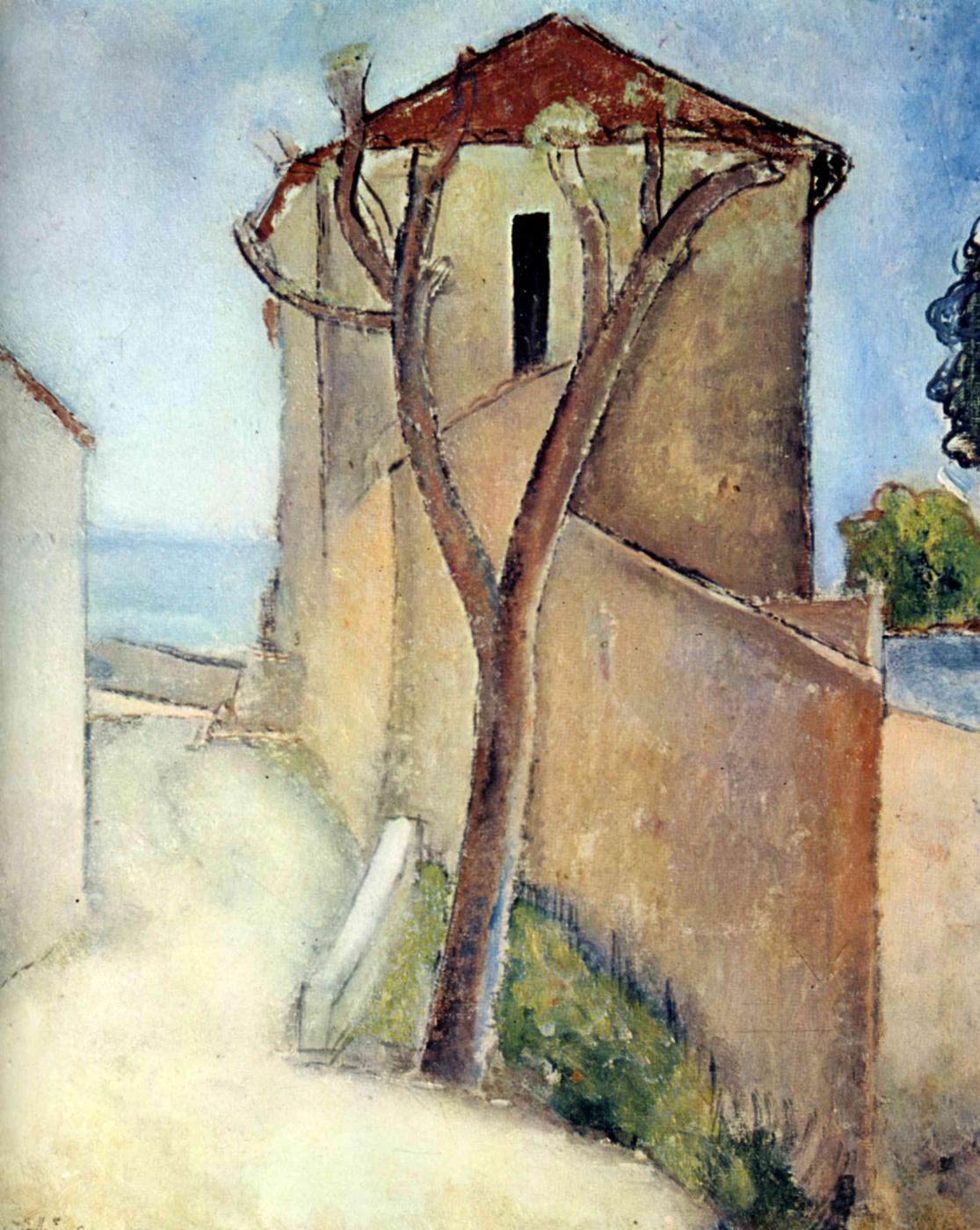 Amedeo Modigliani. Tree house