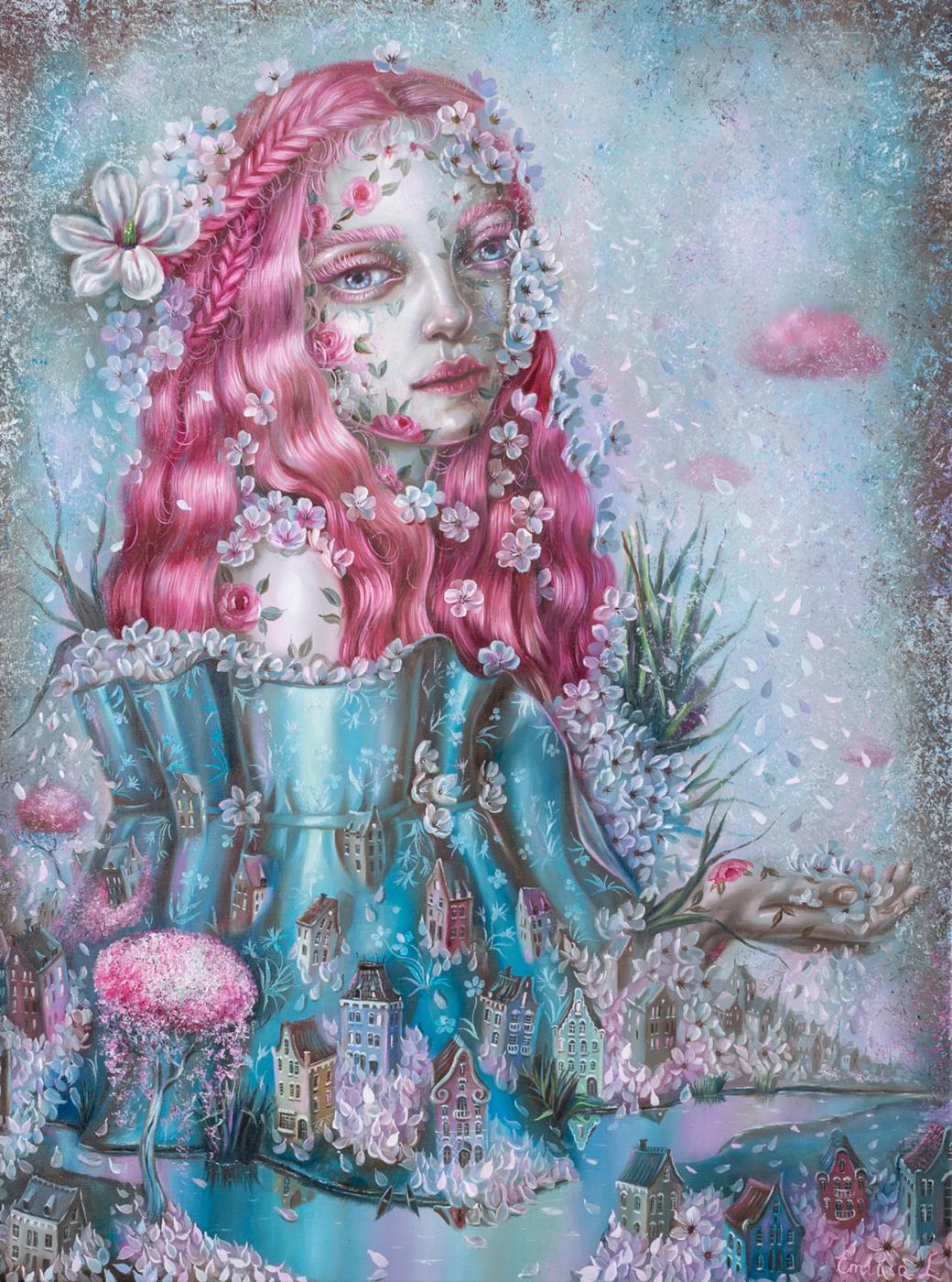 Emiliia Lynnyk. Delicate bloom