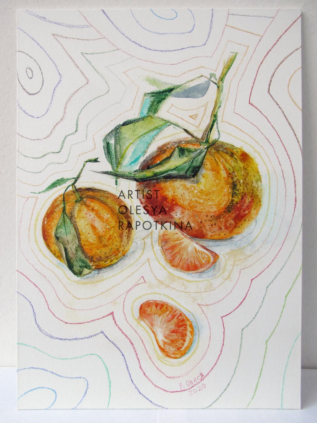Olesya Rapotkina. Merry tangerines