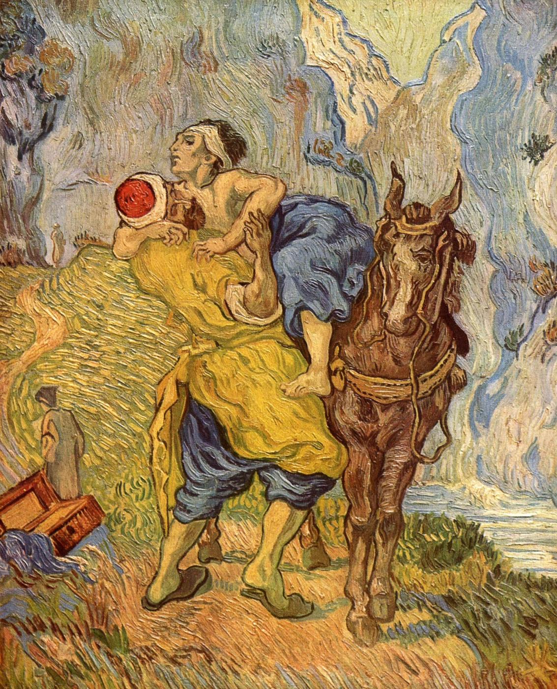 Vincent van Gogh. Good Samaritan