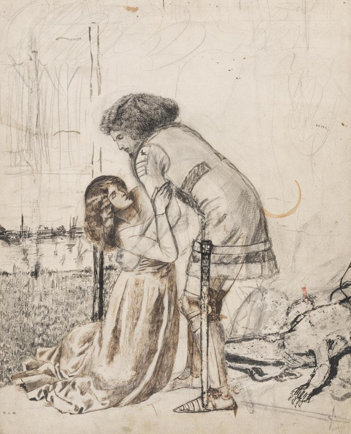 William Morris. The legend of St. George. Fragment II