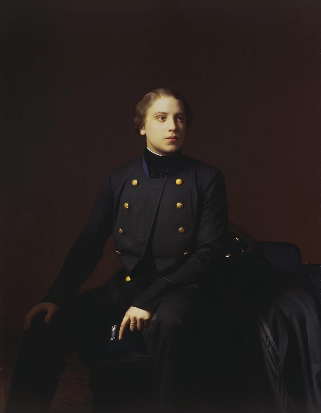 Sergey Konstantinovich Zaryanka. Portrait of Nikolai Sergeevich Stroganov