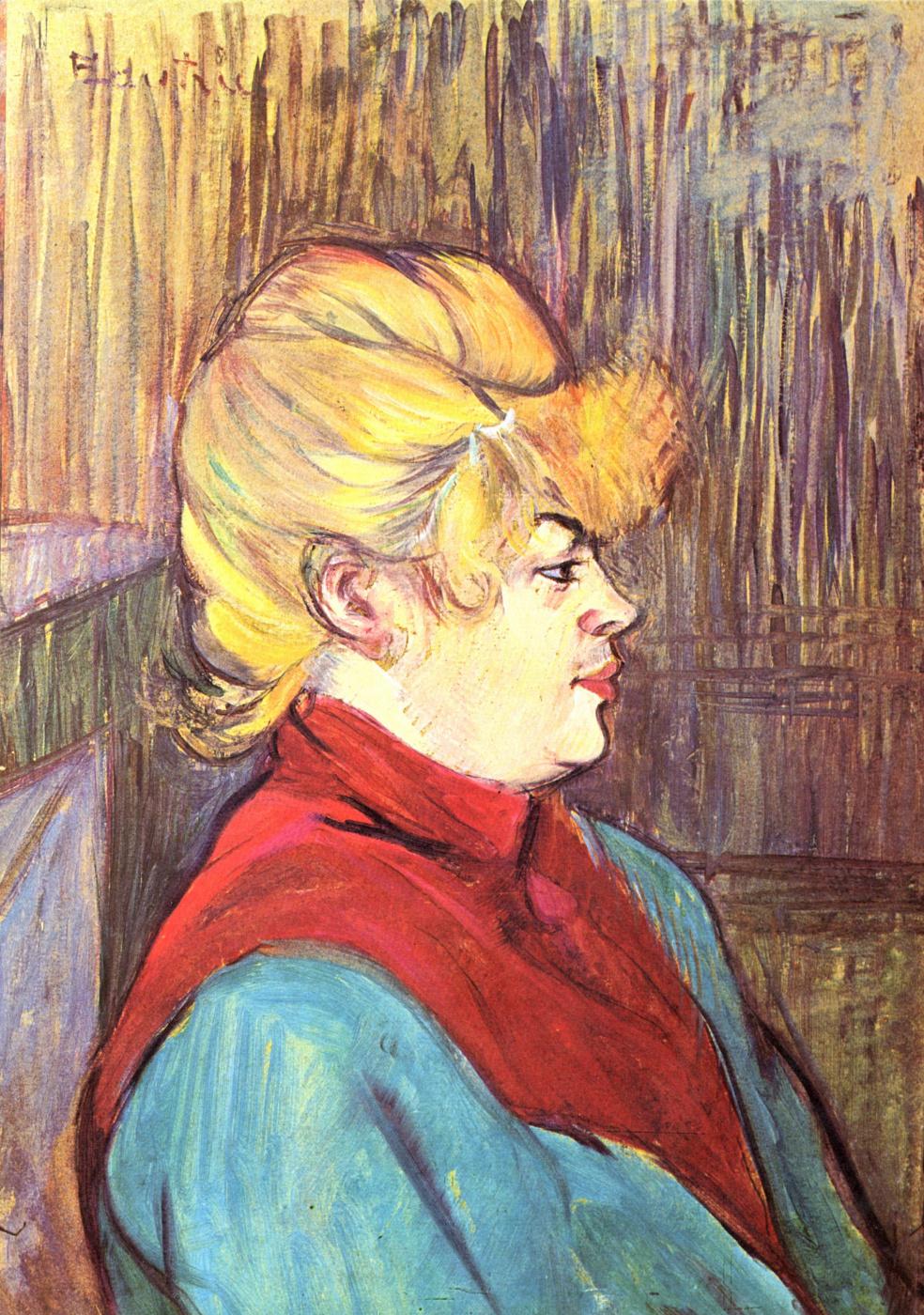 """Henri de Toulouse-Lautrec. The inhabitant of the """"house of joy"""""""