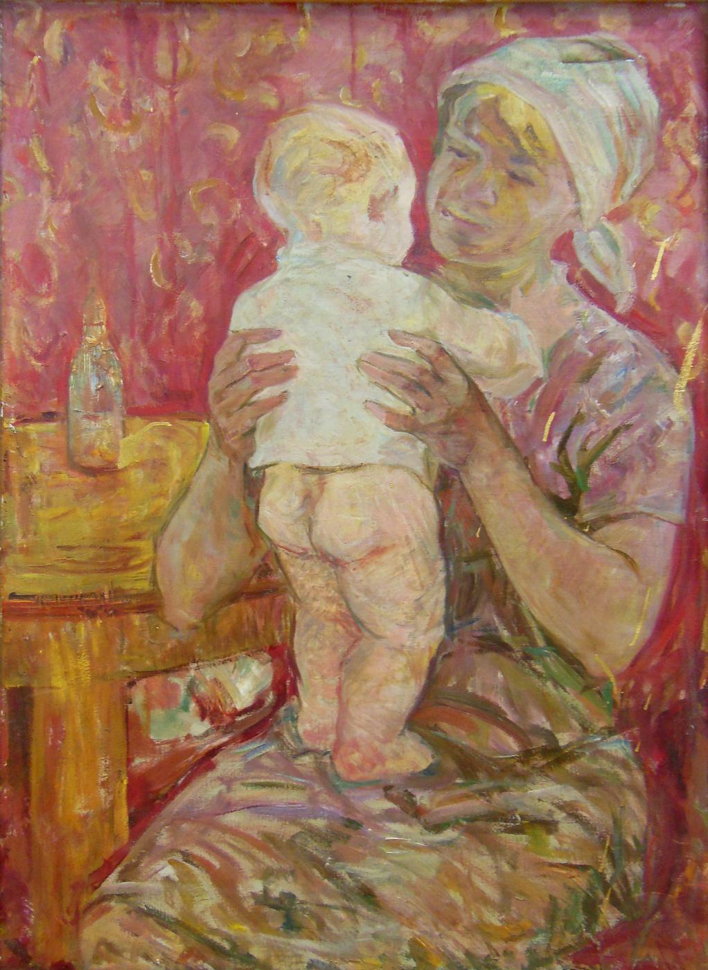 Владимир Иванович Бичевой. Firstborn