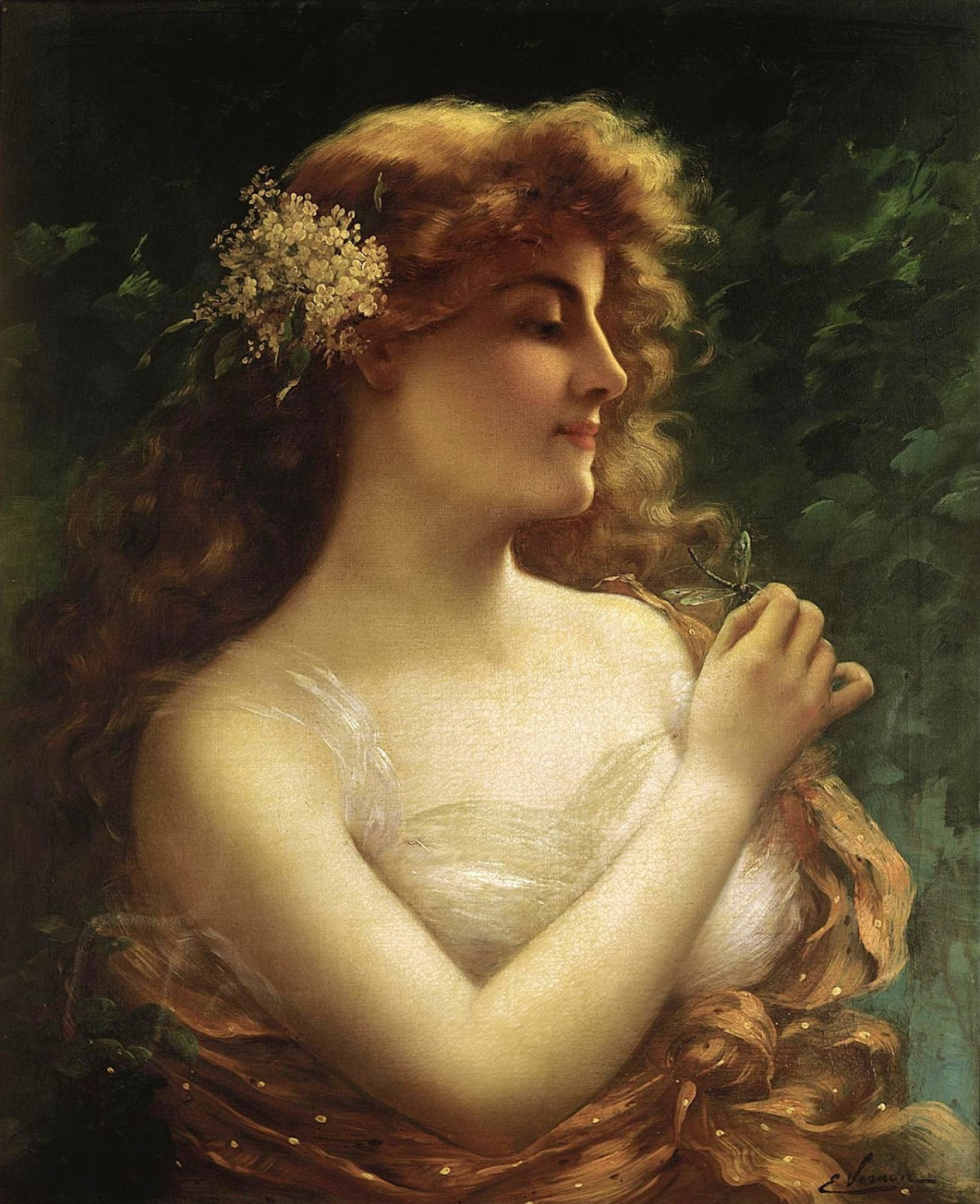 Emile Vernon. Dragonfly. Private collection