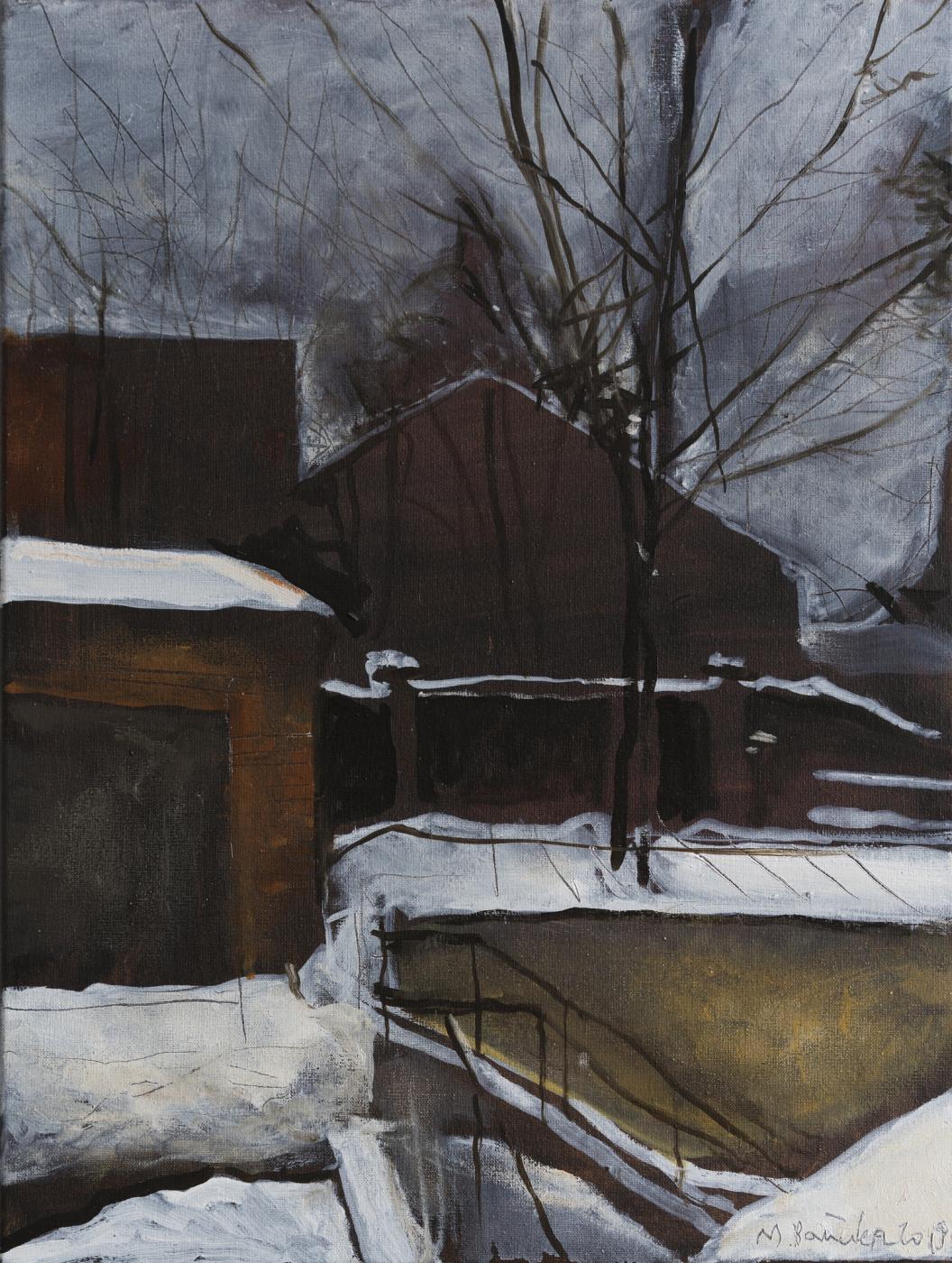 Matvey Weissberg. Window. Remembering Bruegel.