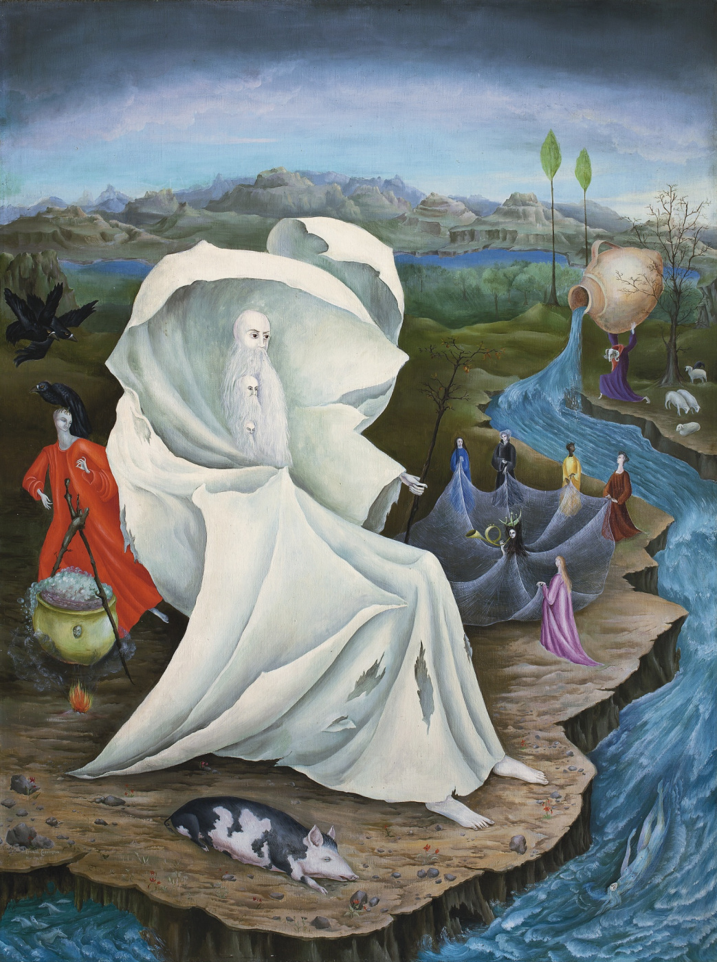 Leonora Carrington. The Temptation Of St. Anthony