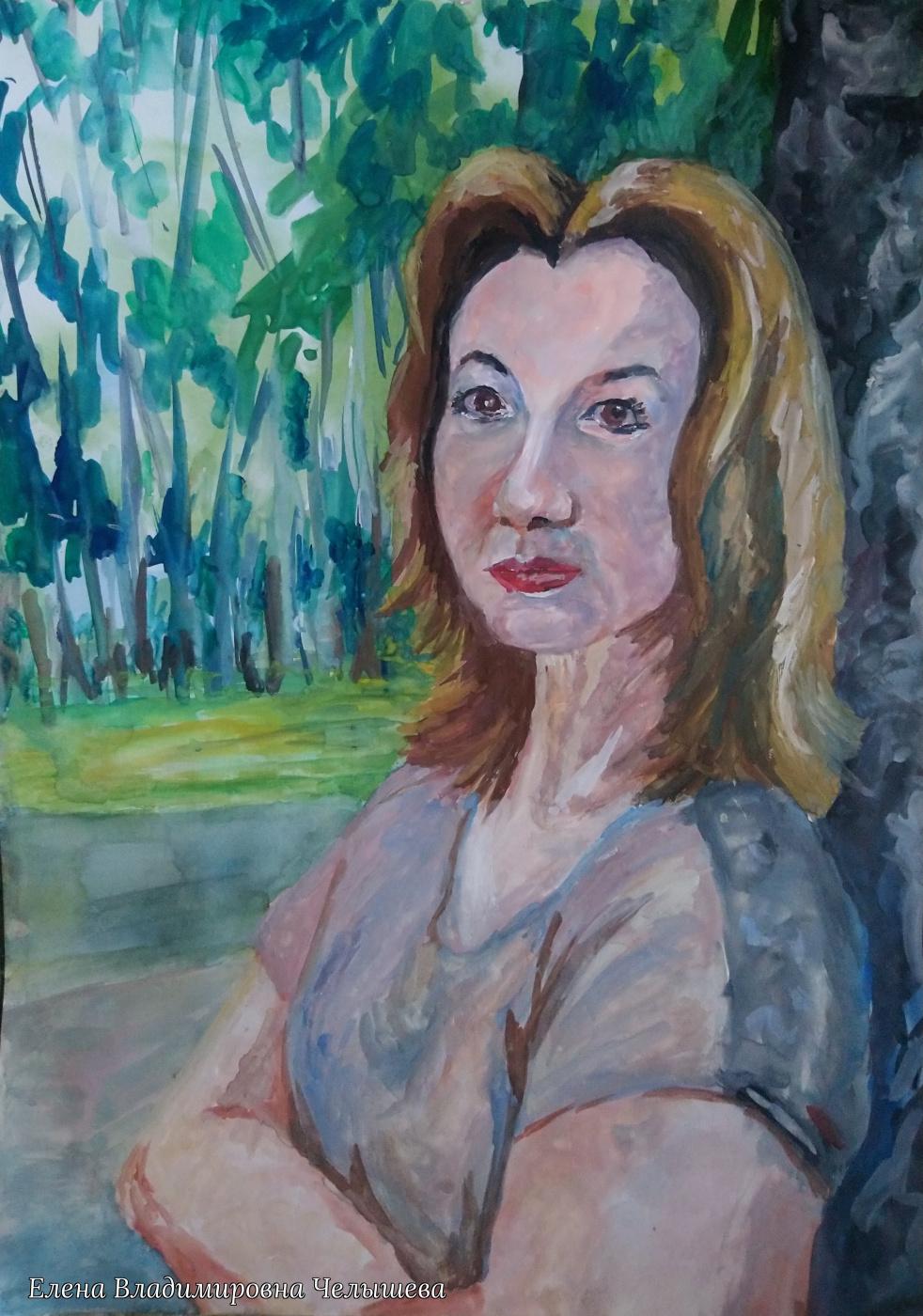 Elena Vladimirovna Chelysheva. Portrait