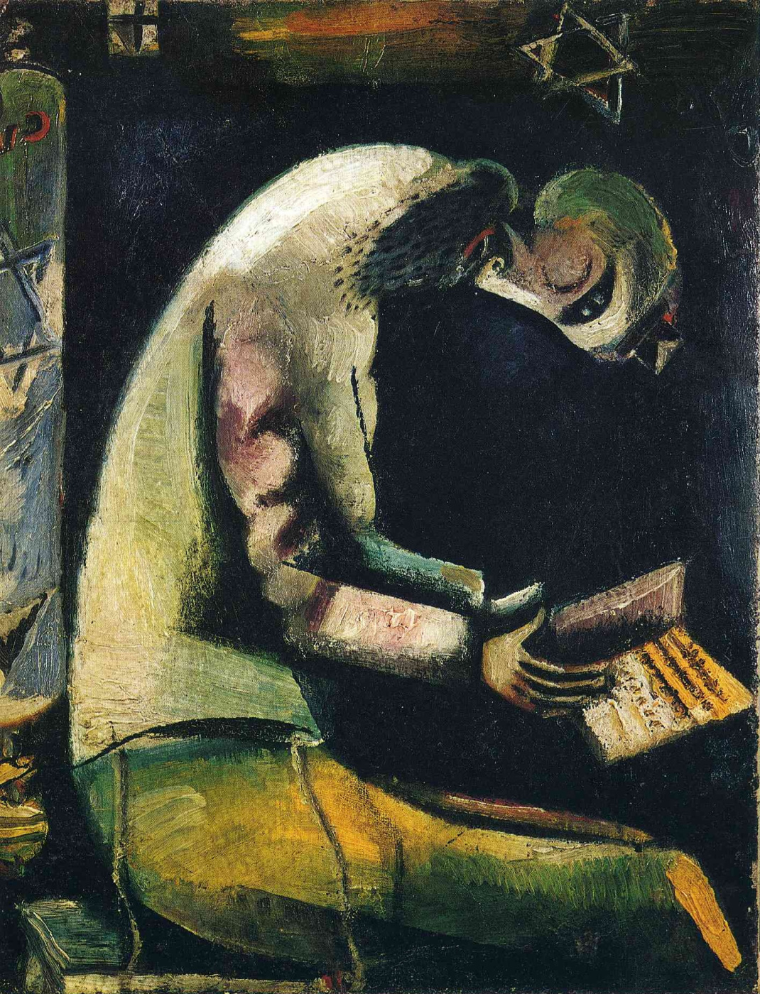 Marc Chagall. A Jew at prayer