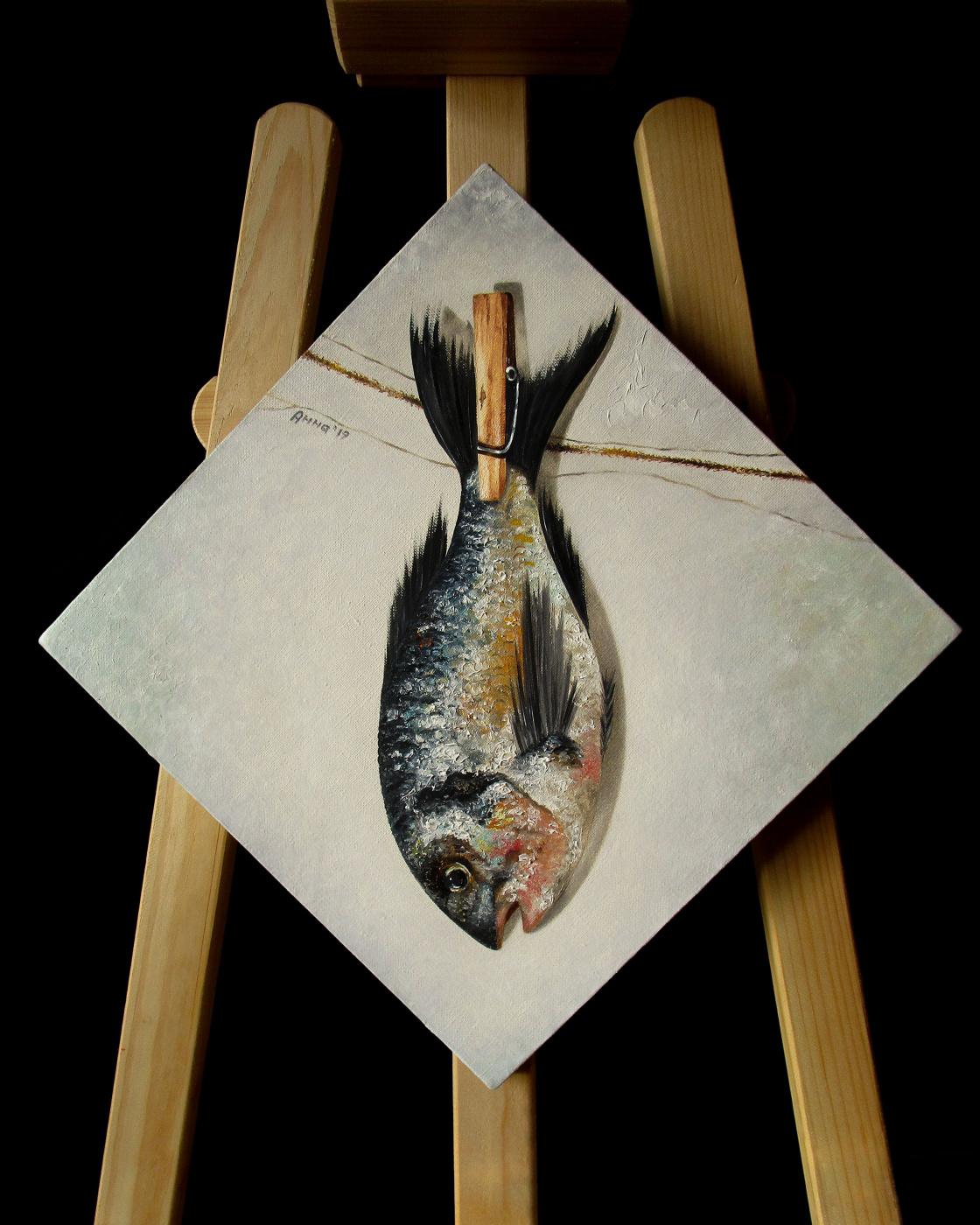 "Anna Komovich. ""A fish"""