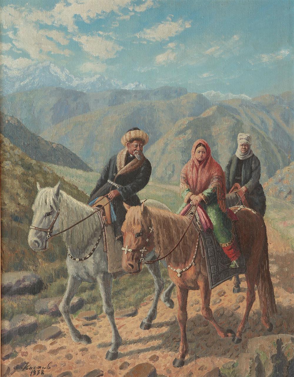 Абылхан Кастеевич Кастеев. Купленная невеста (проводы невесты)