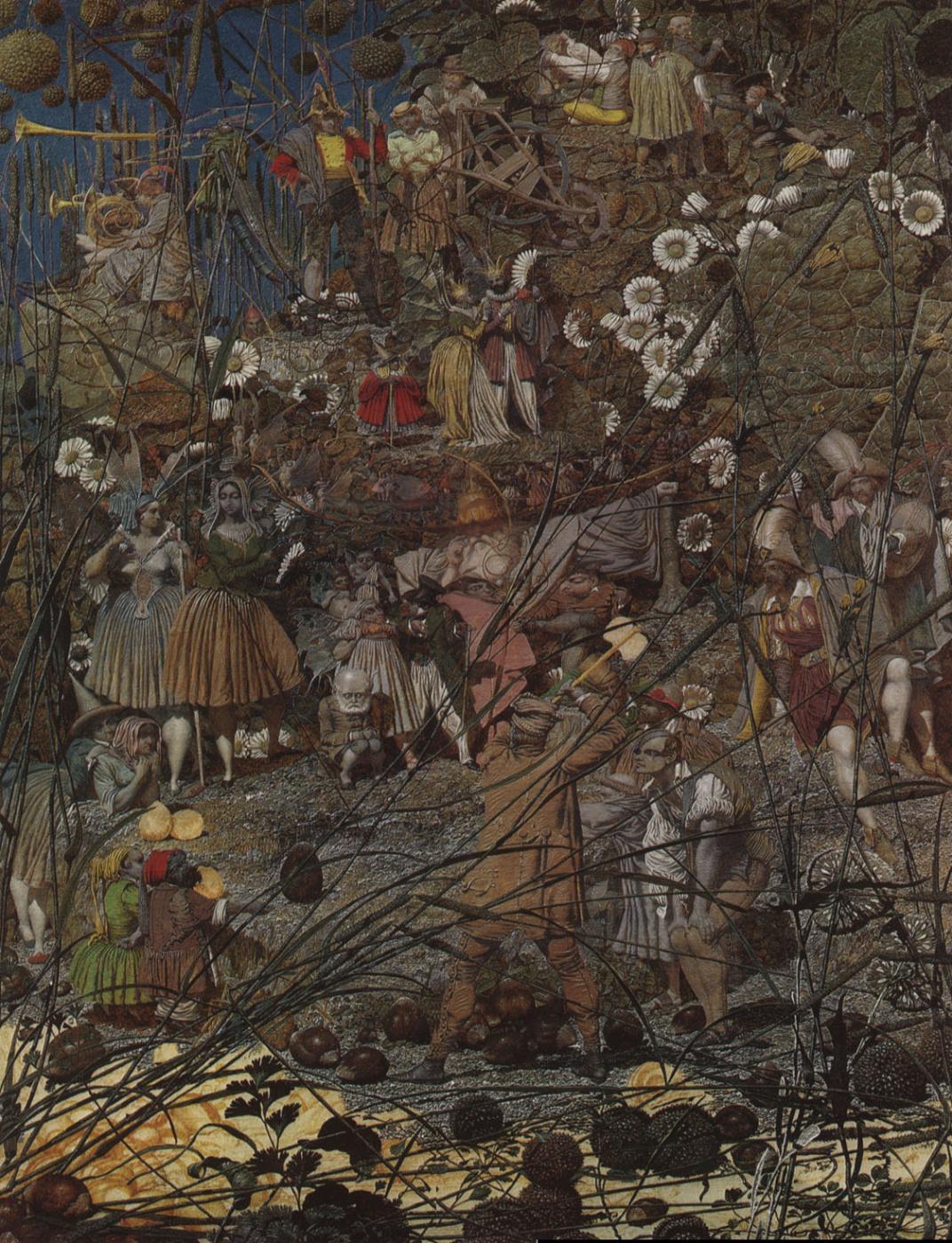 Richard Dudd. Master swing of a fabulous woodcutter