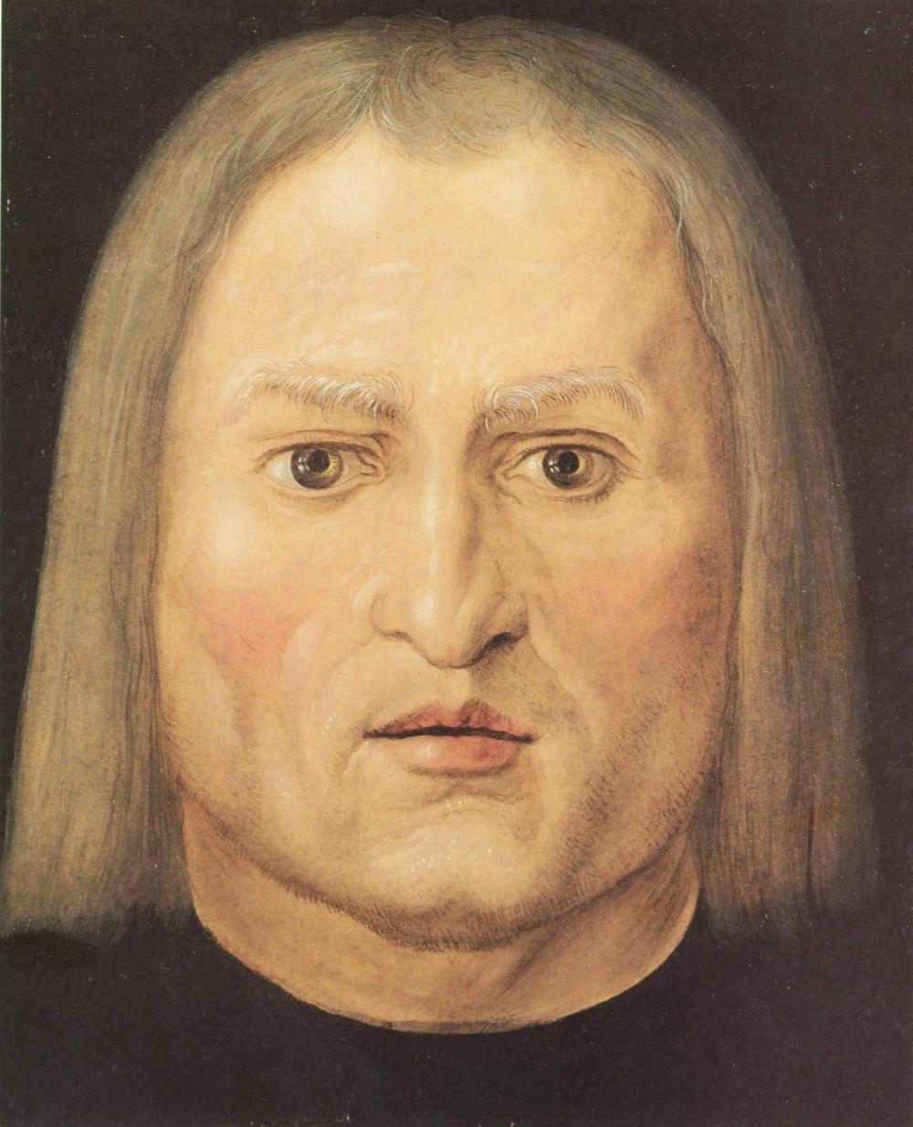 Albrecht Durer. Head of a man