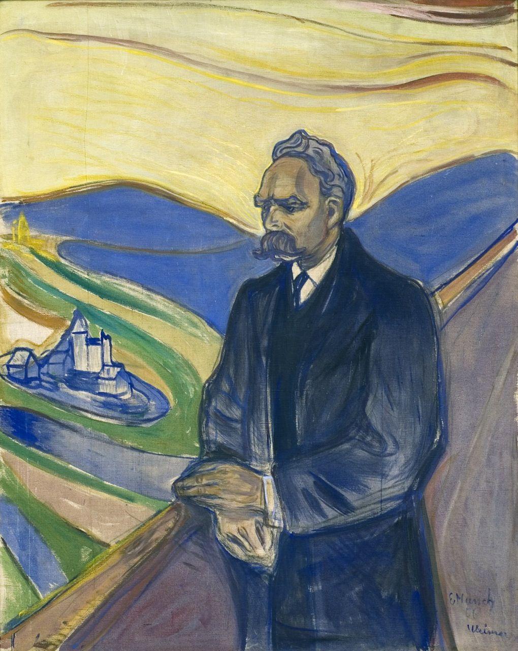 Edvard Munch. Friedrich Nietzsche