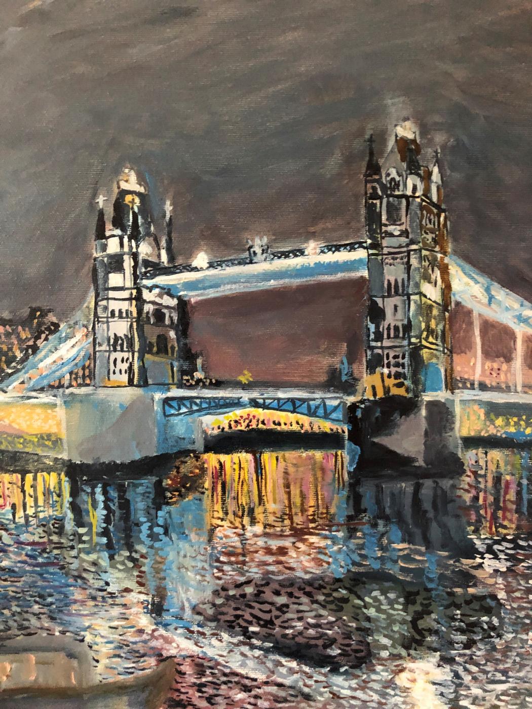 Sergey Vladimirovich Sebini. Лондон . Тауэрский мост .