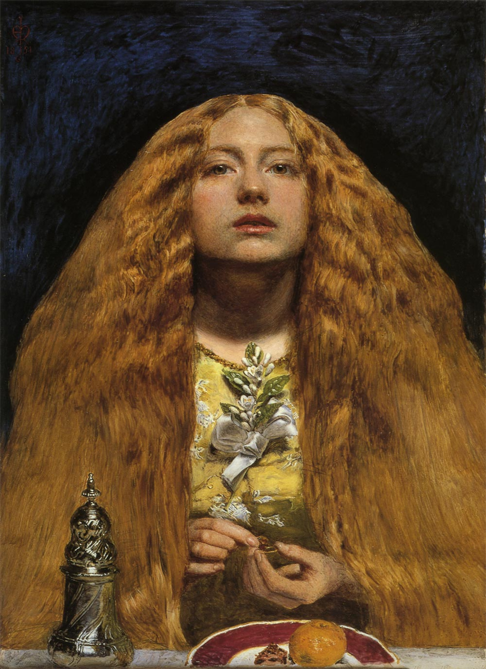 John Everett Millais. The bride