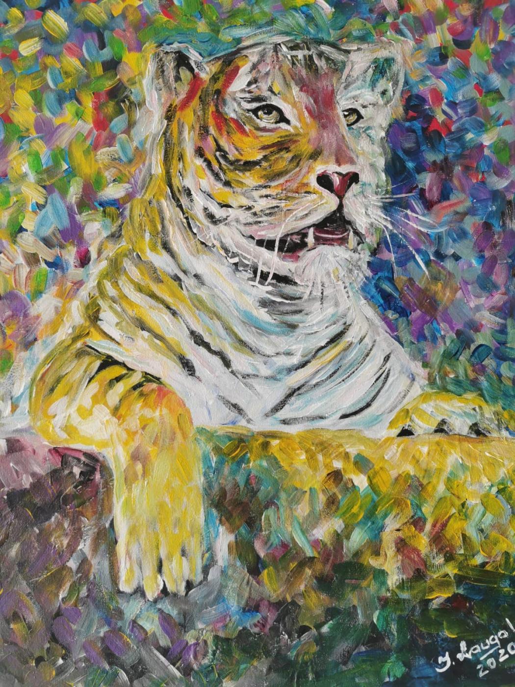 Inga Laugale. ,,Tiger,,