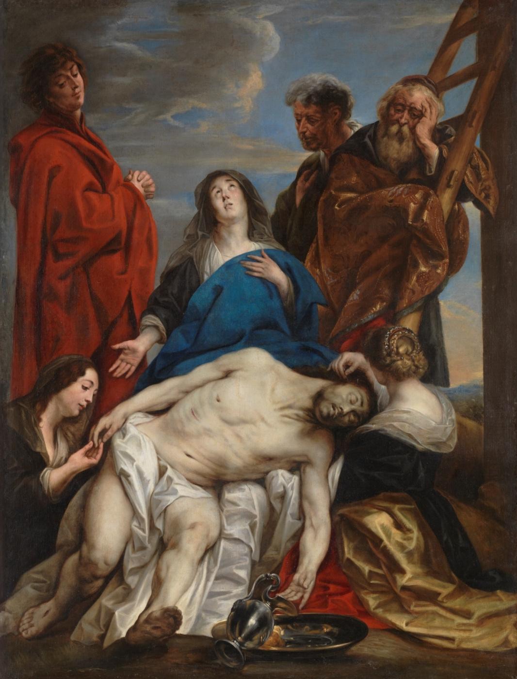 Jacob Jordaens. Pieta