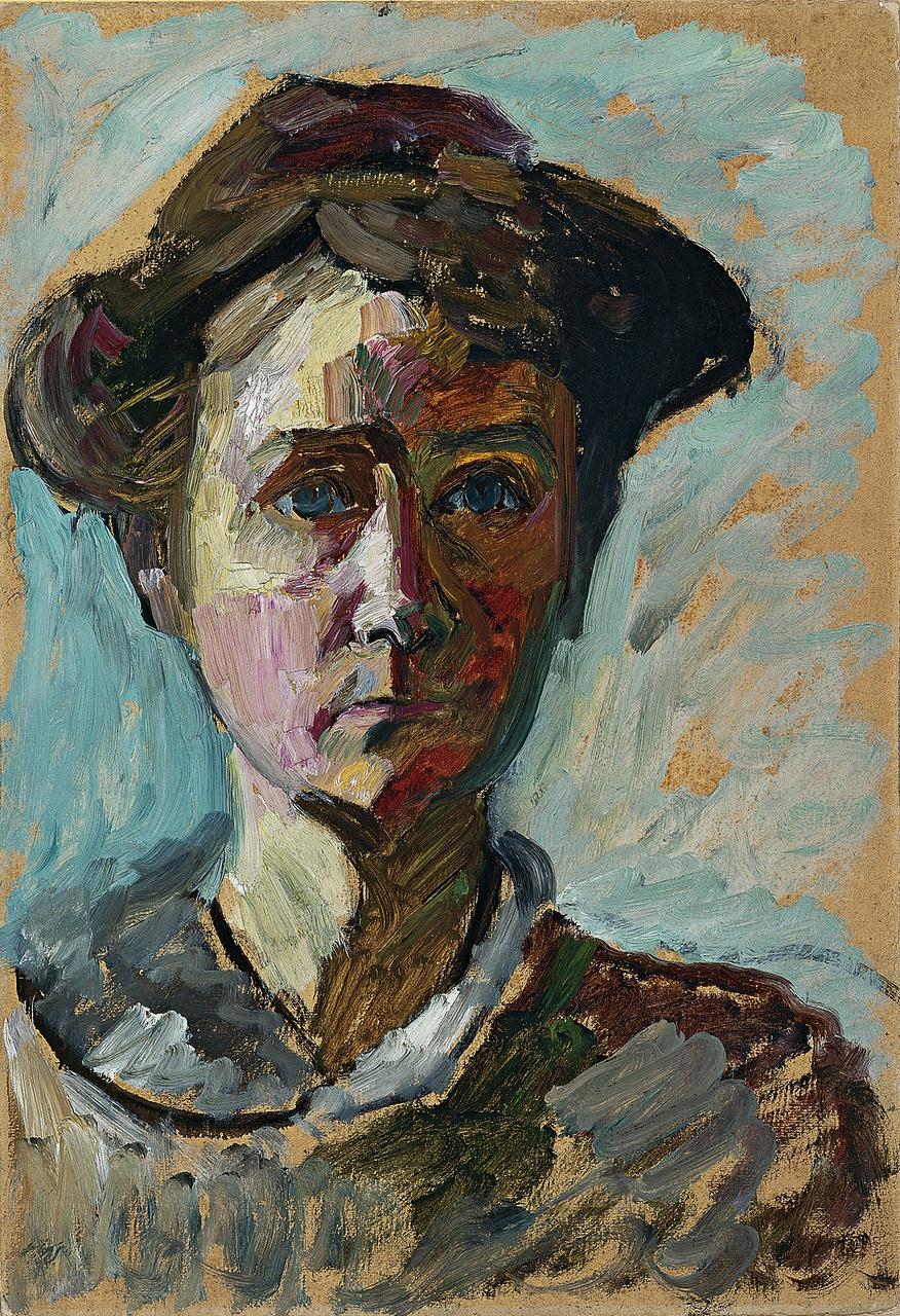 Gabriele Münter. Self-portrait