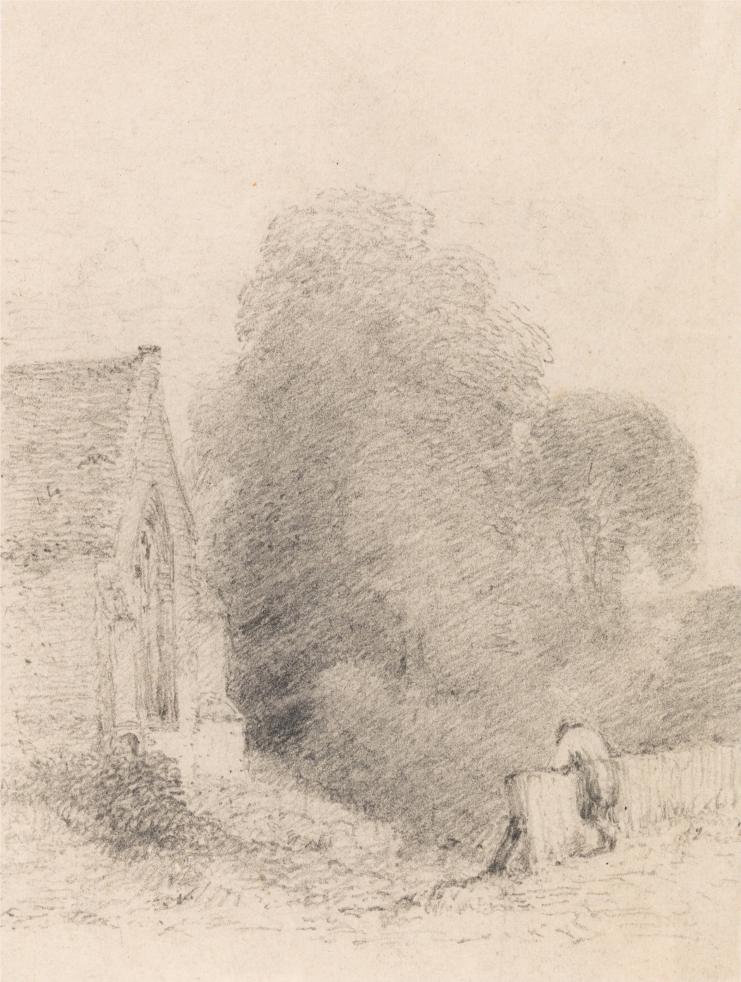 John Constable. The Church Of Wormingford