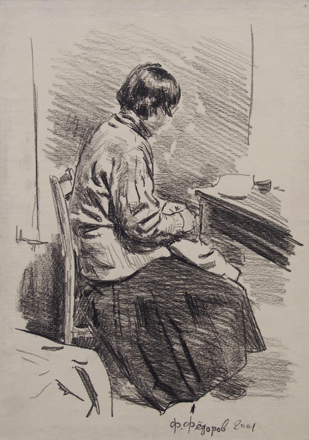 Фёдор Борисович Фёдоров. By sewing