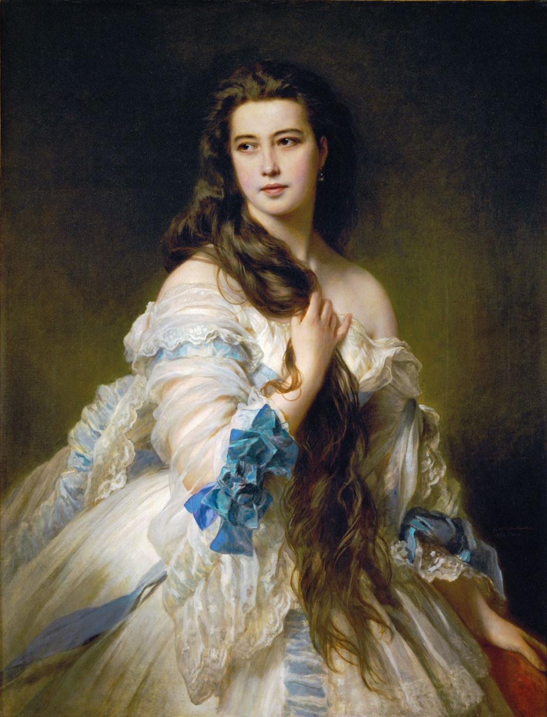 Franz Xaver Winterhalter. Varvara Rimsky-Korsakov (Madame Rimsky-Korsakov)