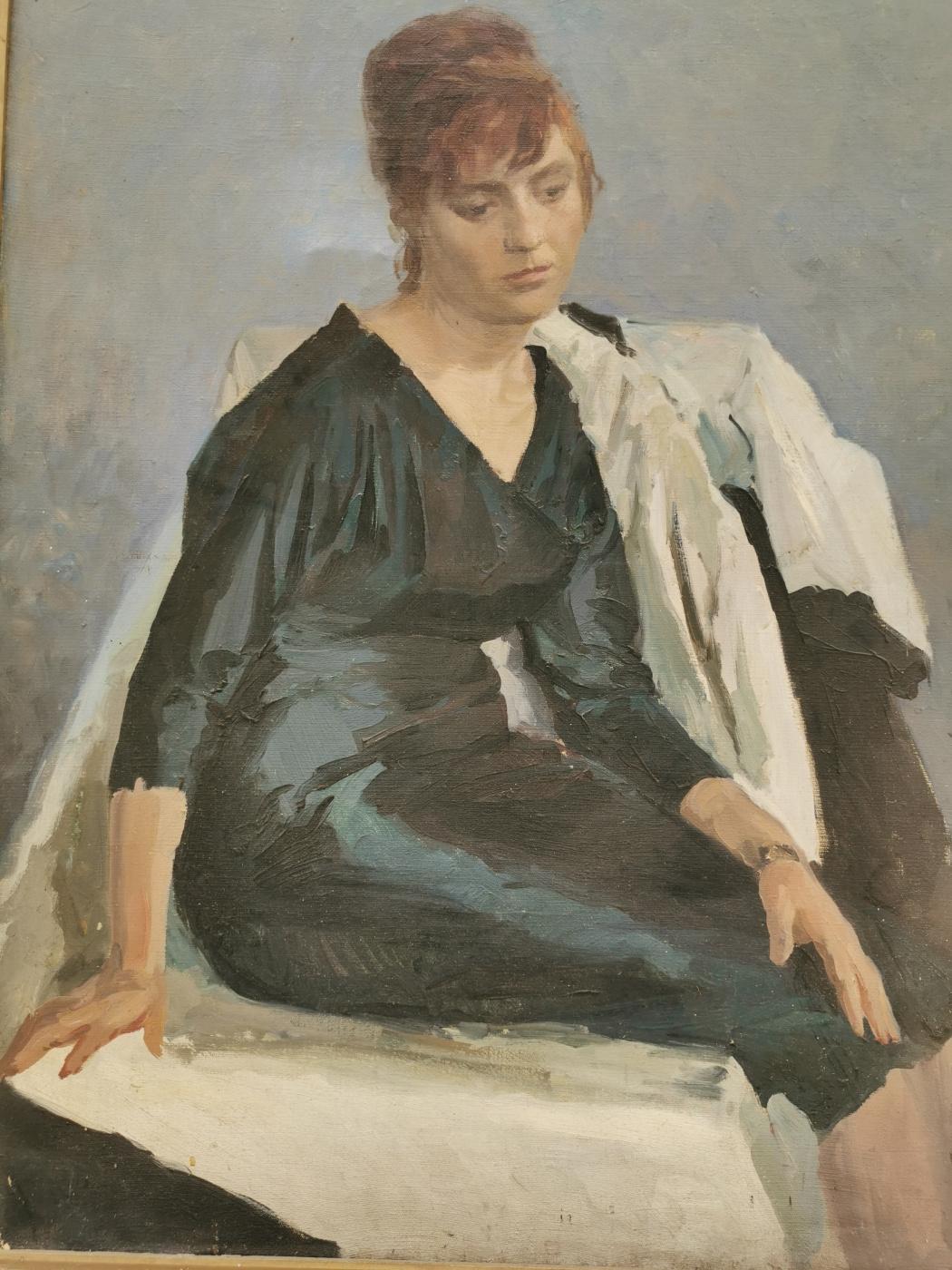 I. A. Dmitriev. Female portrait