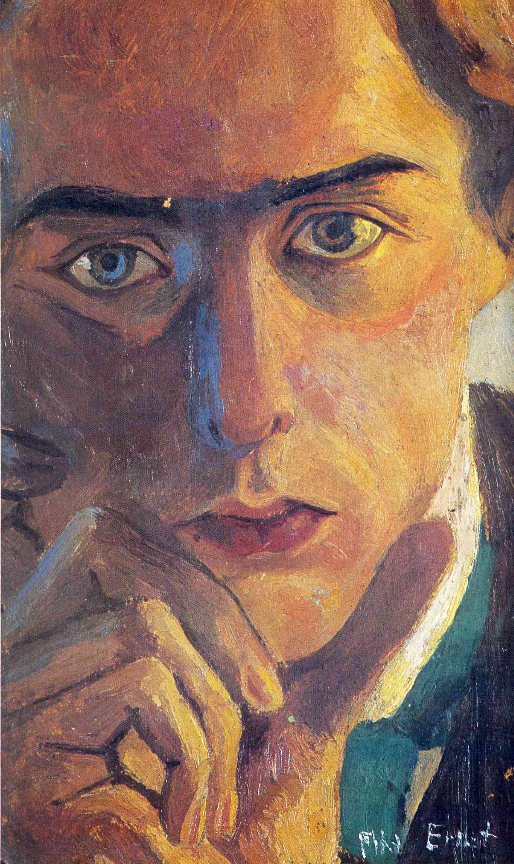 Max Ernst. Self-portrait