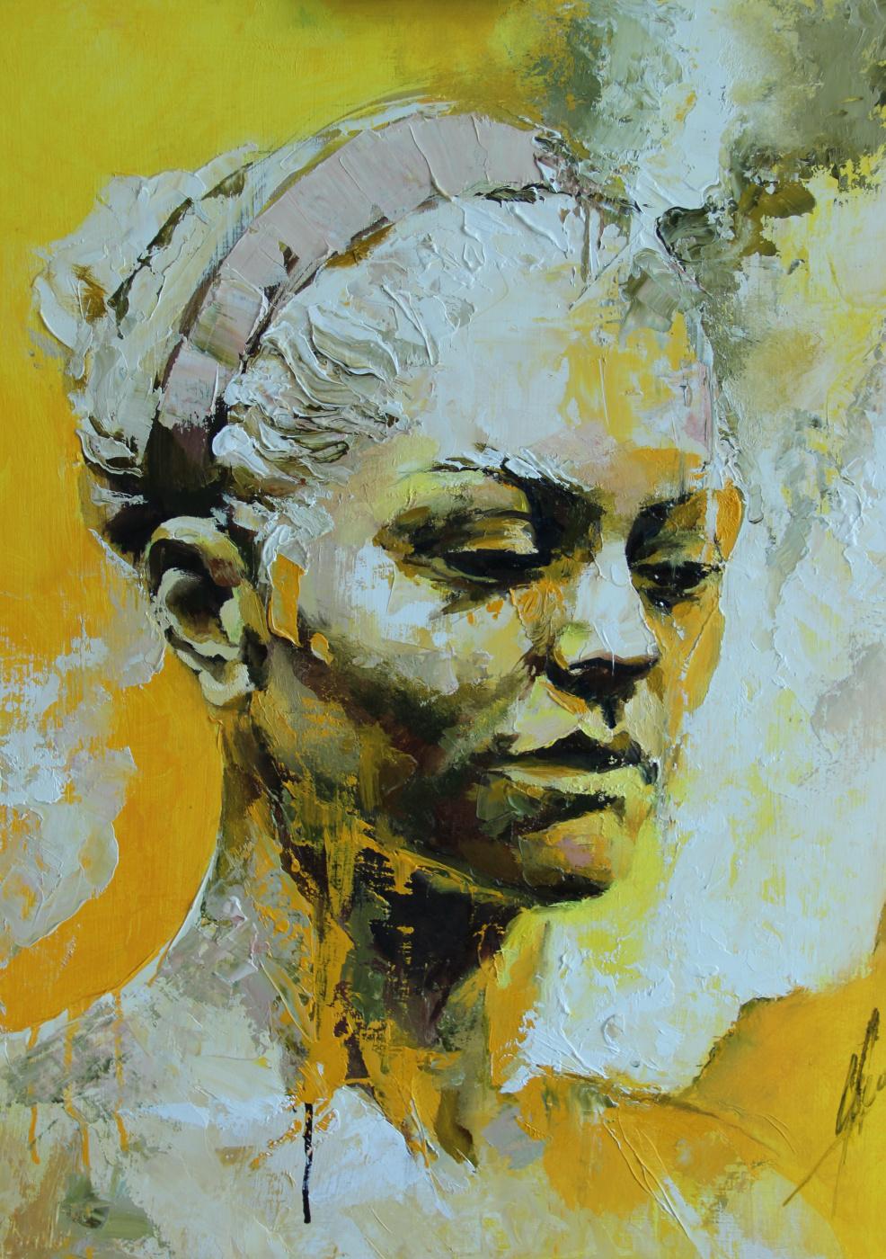 Olga Shatskaya. In the sun