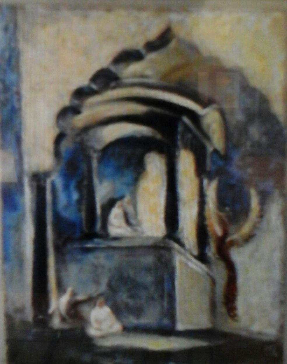 VALERY Viktorovich Shechkin. Indian rishi
