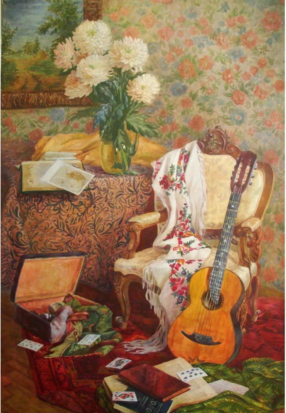Marina Sergeeva. Interior still life