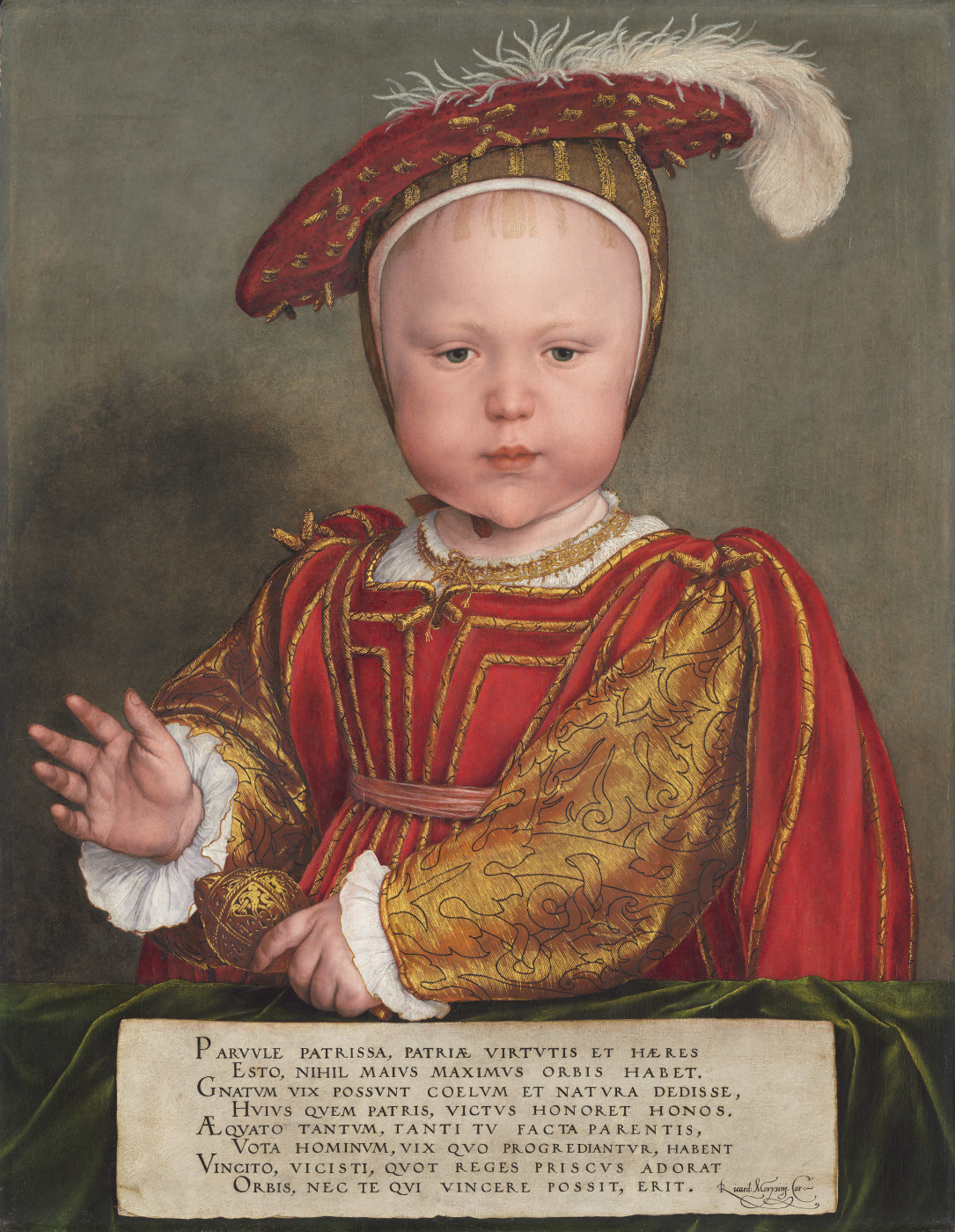 Hans Holbein the Younger. Portrait of Edward VI in childhood