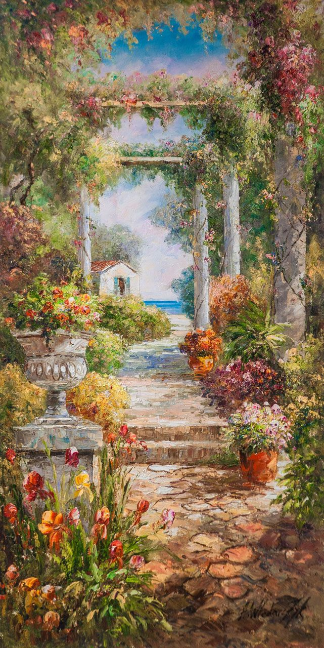 Andrzej Vlodarczyk. View through the arch to the sea N2