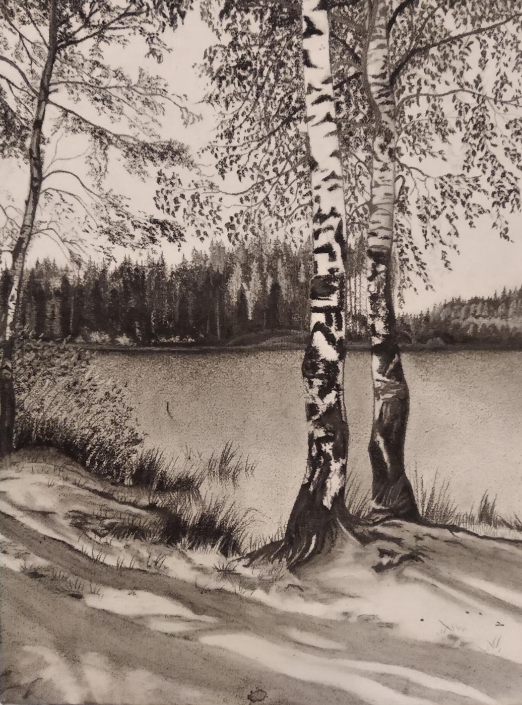 Vera Volkova. Юкки. Берег озера