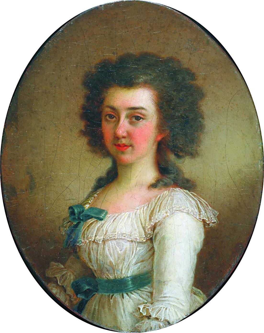 Vladimir Borovikovsky. Portrait of Elizabeth Markovna Olenina