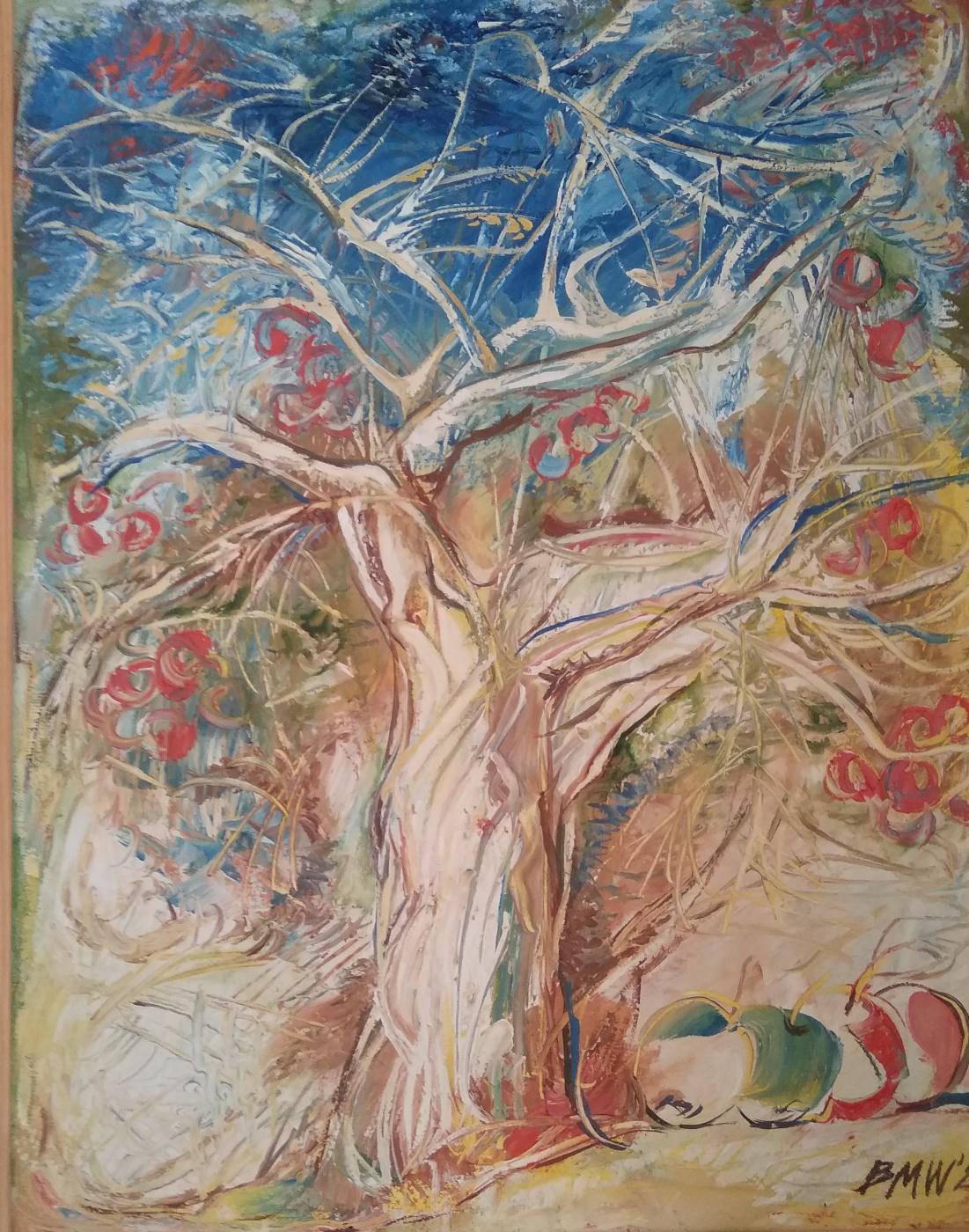 Mikhail Vasilievich Babiy. Mother - apple tree