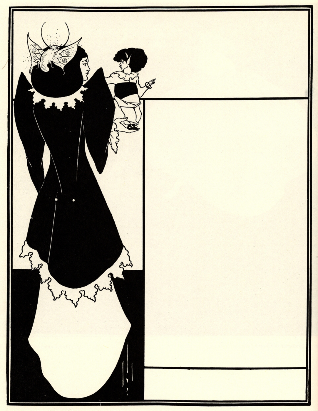 Aubrey Beardsley. Yellow book (cover of the magazine)