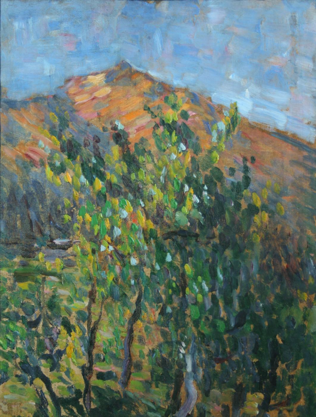 Alexej von Jawlensky. Mountain