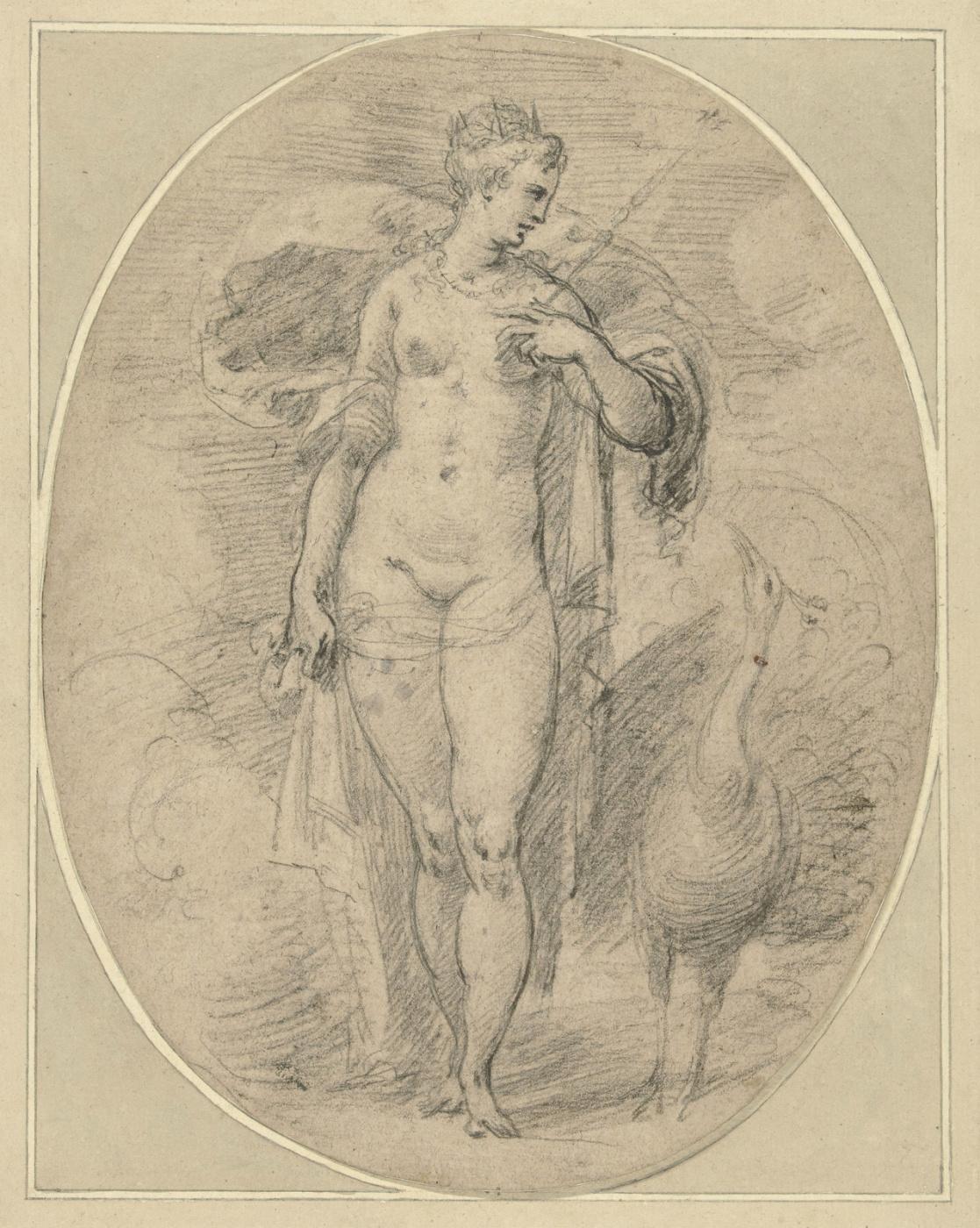 Hendrik Goltzius. Juno.1600-1617
