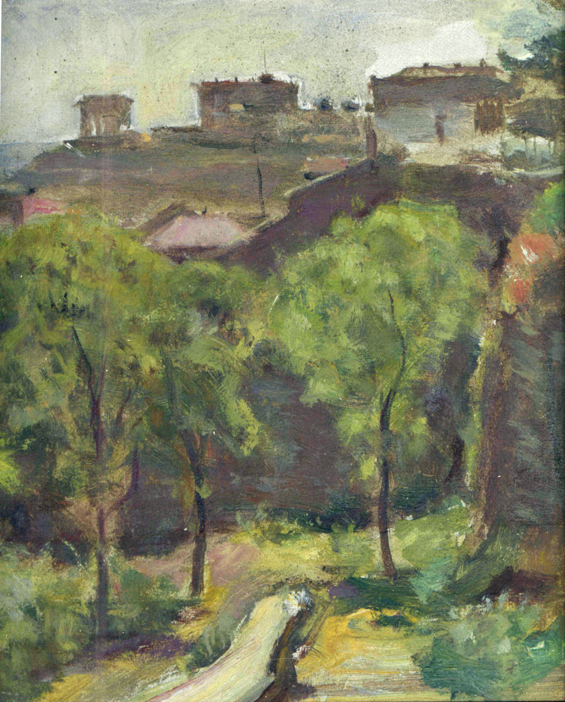 Eugene Iosifovich Bukovetsky. Landscape. Path