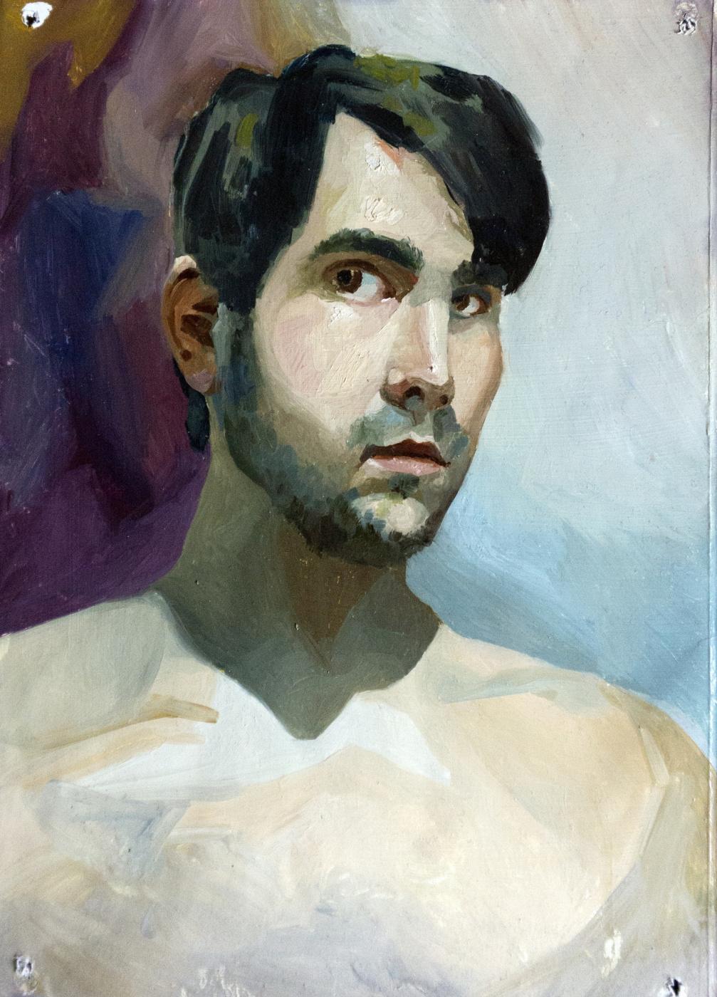 Ilya Igorevich Statsura. Self-portrait