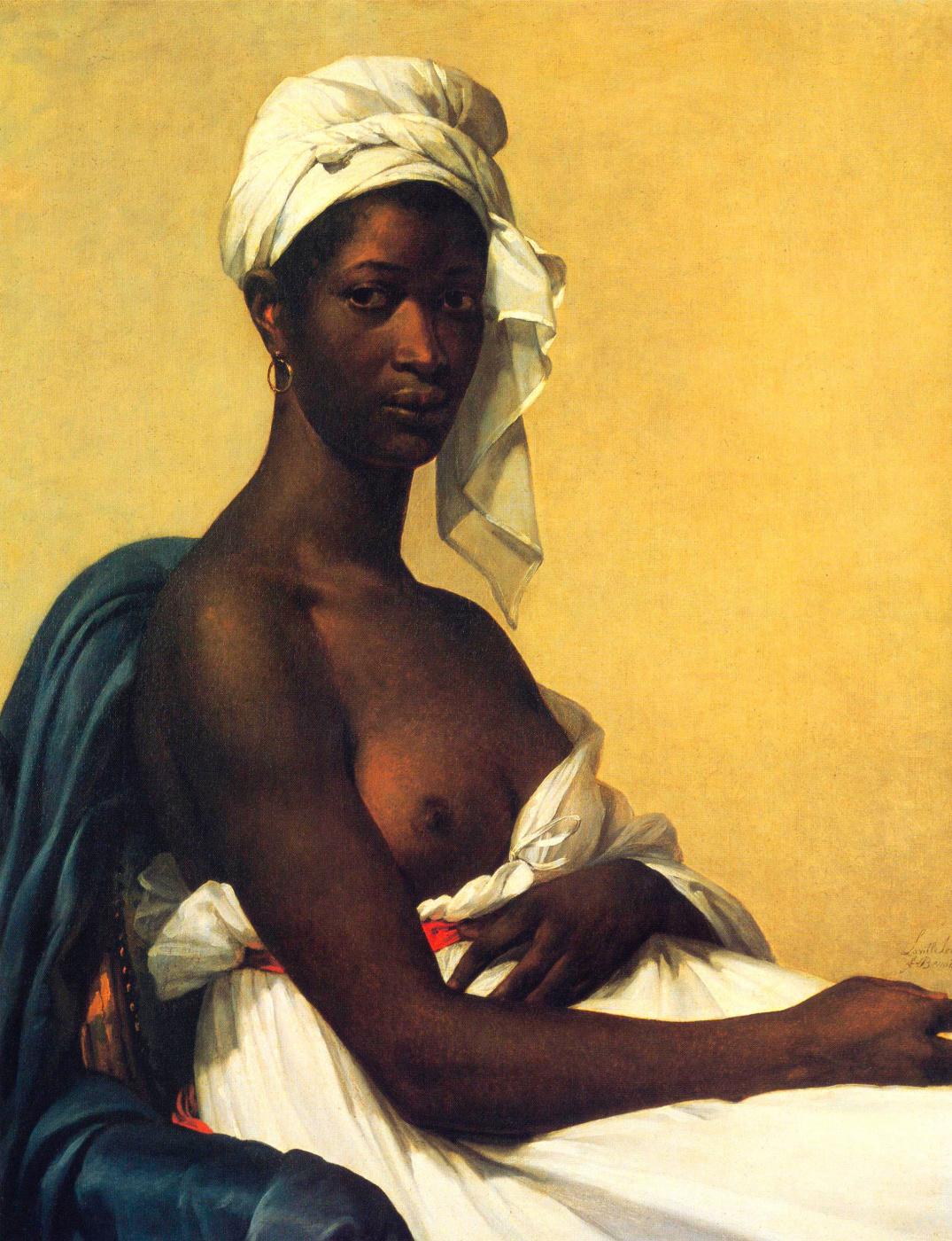Maria Guillemine Benoit. Portrait of a black woman
