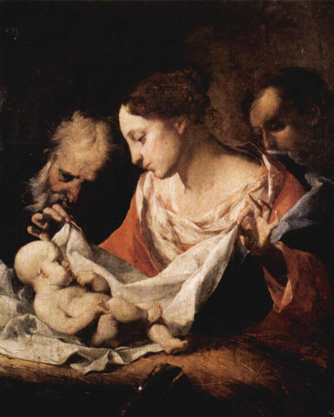 Giuseppe Antonio Petrini. Holy family