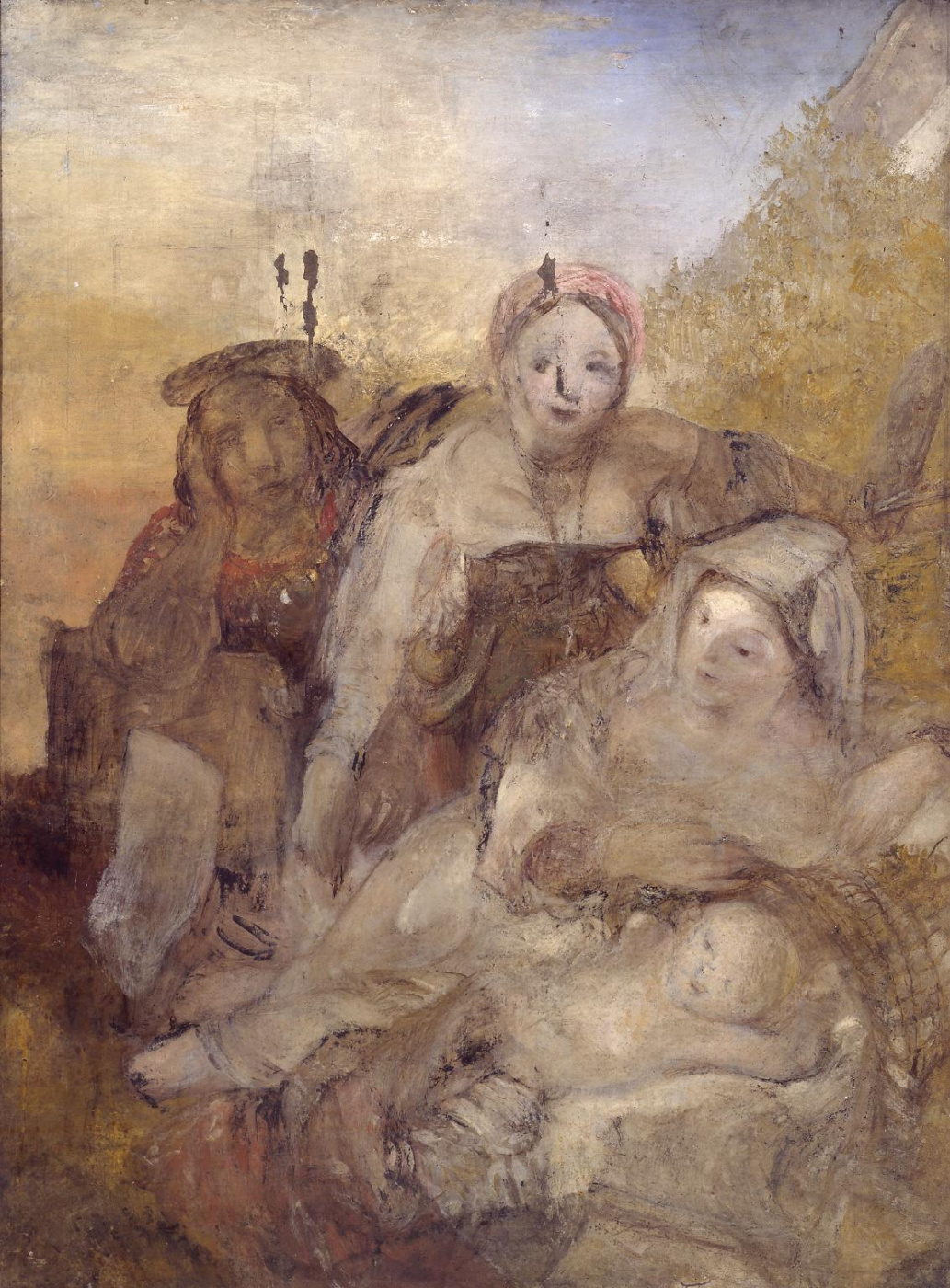 Joseph Mallord William Turner. Rest on the flight into Egypt