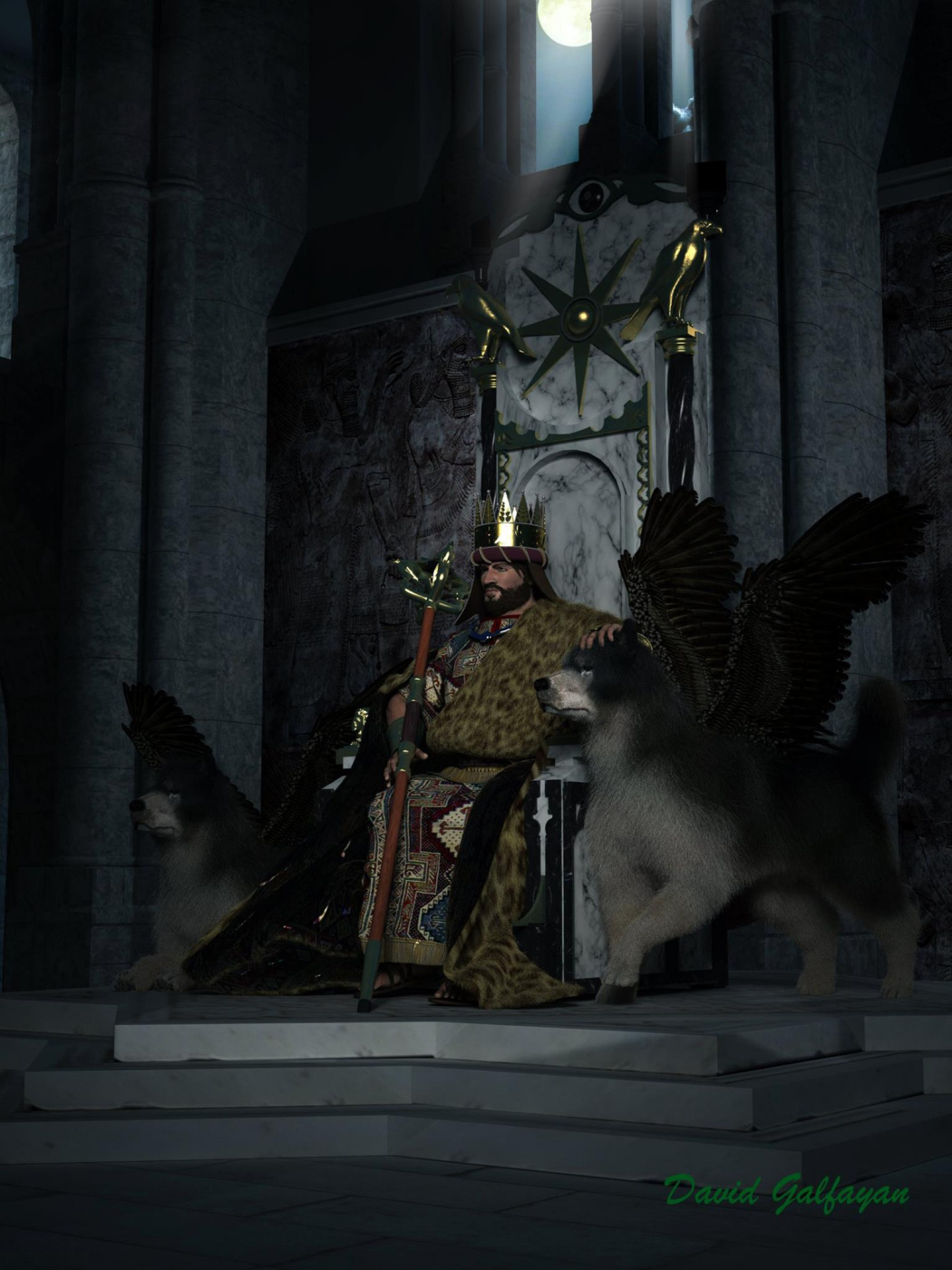 David Koryun Galfayan. Tigran the Great