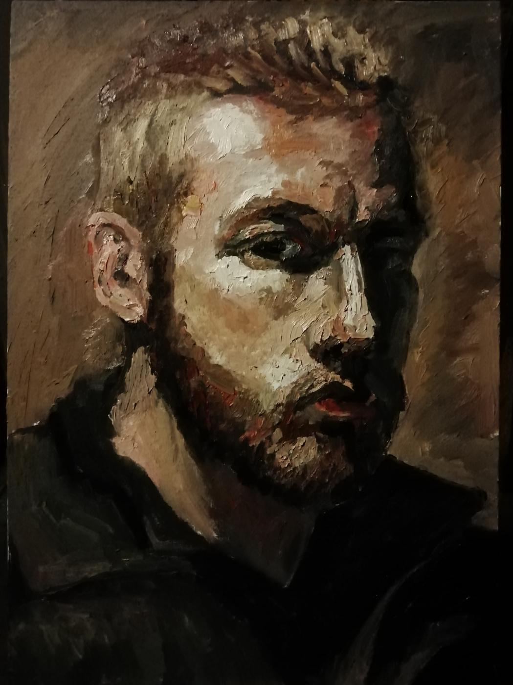 Stefan Petrovich Imbirev. Seventh Self Portrait