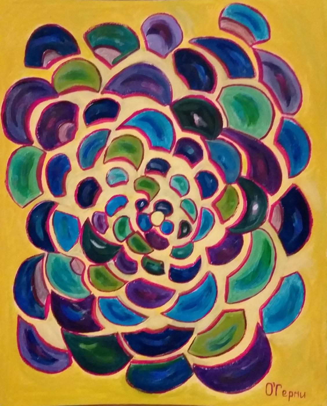 Olga Germiseeva. Beach mosaic