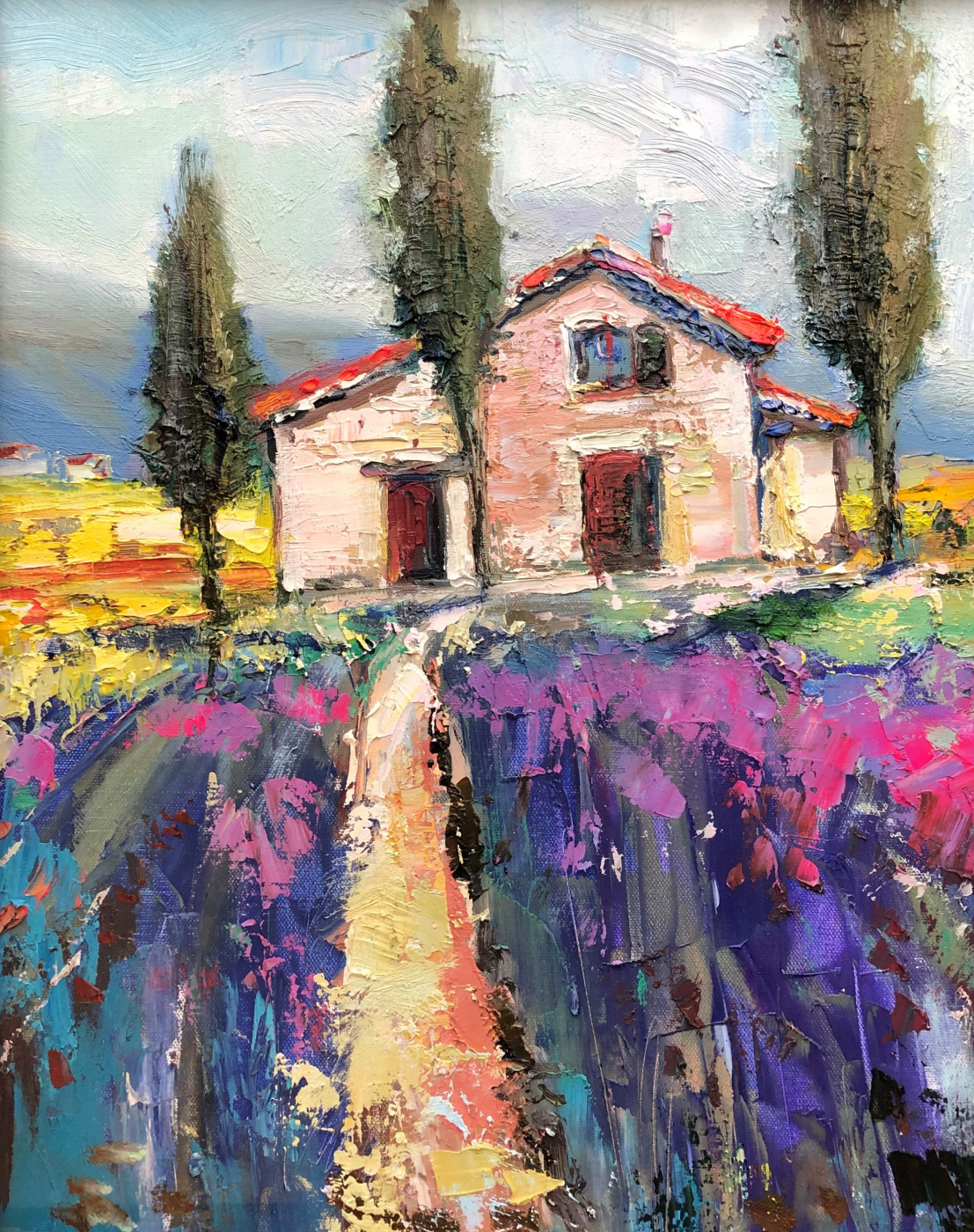 Pavel Tyapugin. House in Provence