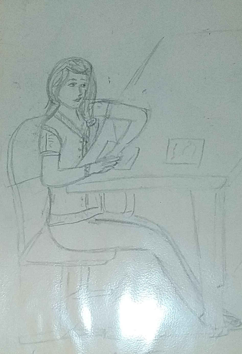 Zina Vladimirovna Parisva. Classmate at school