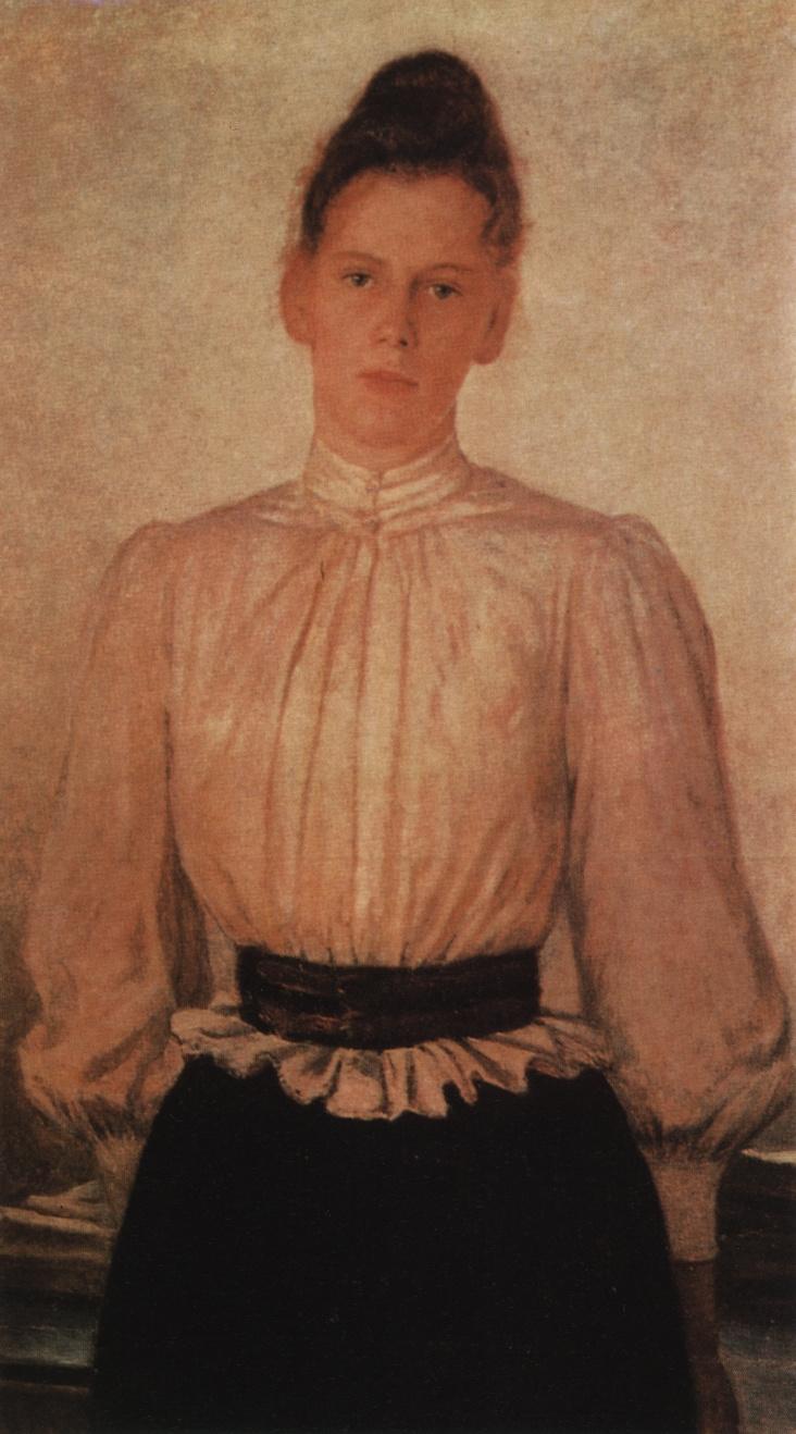 Nikolai Nikolaevich Ge. Portrait of Maria Lvovna Tolstaya, daughter of the writer